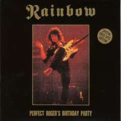 Rainbow - Perfect Roger's Birthday Party bootleg cover art front