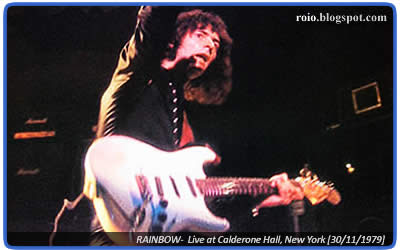 Rainbow con Graham Bonnet live at Calderone Hall, New York, 1979. Perfect Roger's Birthday Party Liberated Bootleg ripped from Silver CD