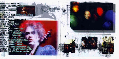 The Cure. Queen Elisabeth Parade booklet 2