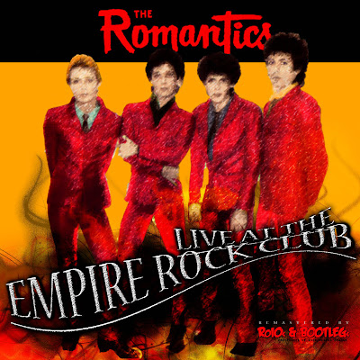 The Romantics Empire Rock Club Front