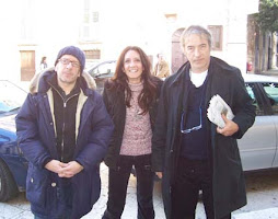 Dario Vergassola, io e David Riondino.