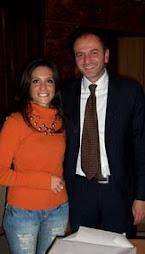 Giuseppe Lovascio, sindaco della mia città, ed io.