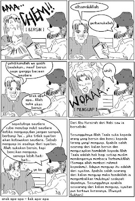 Bersin & Menguap