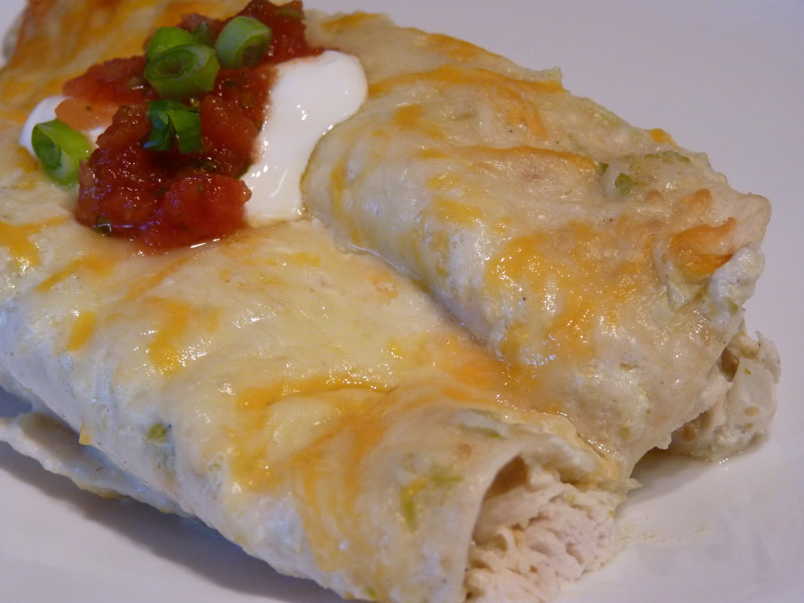 Fantastic Family Favorites: Creamy Chicken Enchiladas