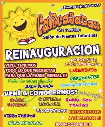 Carcajadas: Salón de fiestas infantiles