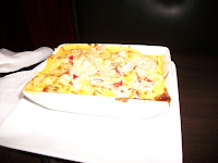 Click to enlarge - Lobster Mac 'n Cheese, made with chunks of lobster meat and rich, creamy cheese.