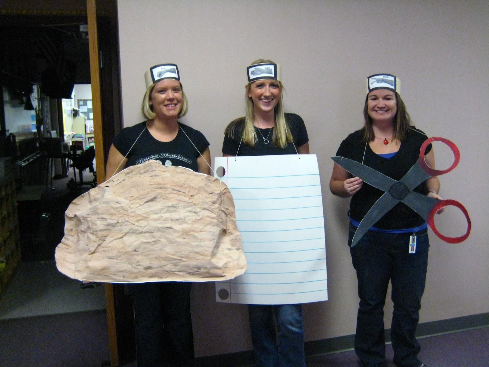Halloween Costume Rock Paper Scissors
