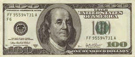 $100 Bill Image Hyperlink