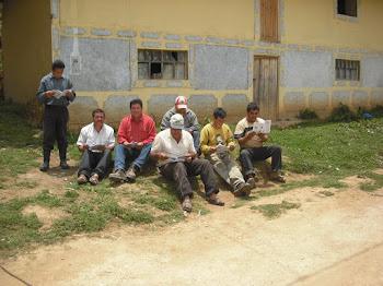 Lectores de Fuscán en Calconga