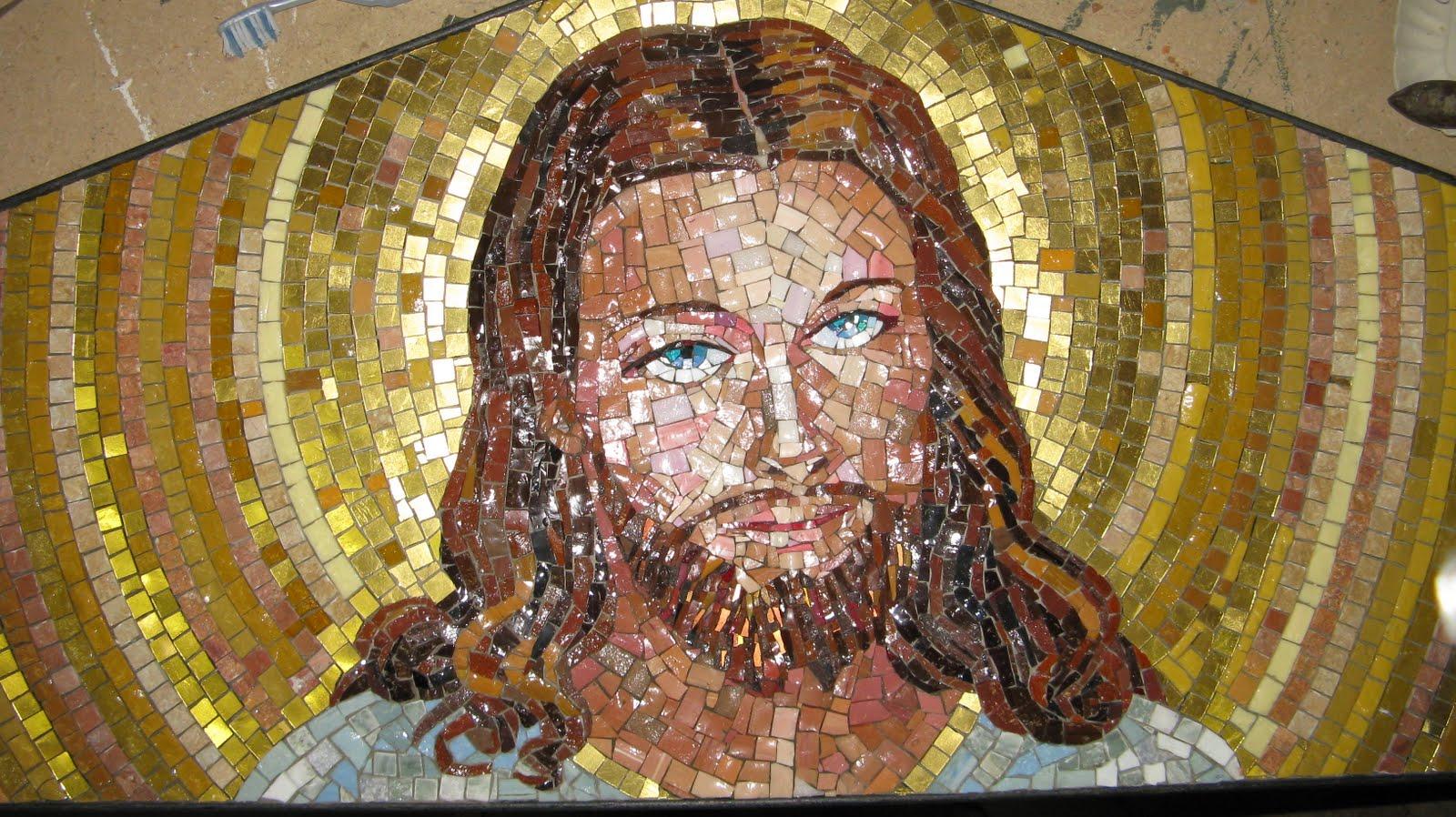 giulia scapini  i tavoli a mosaico