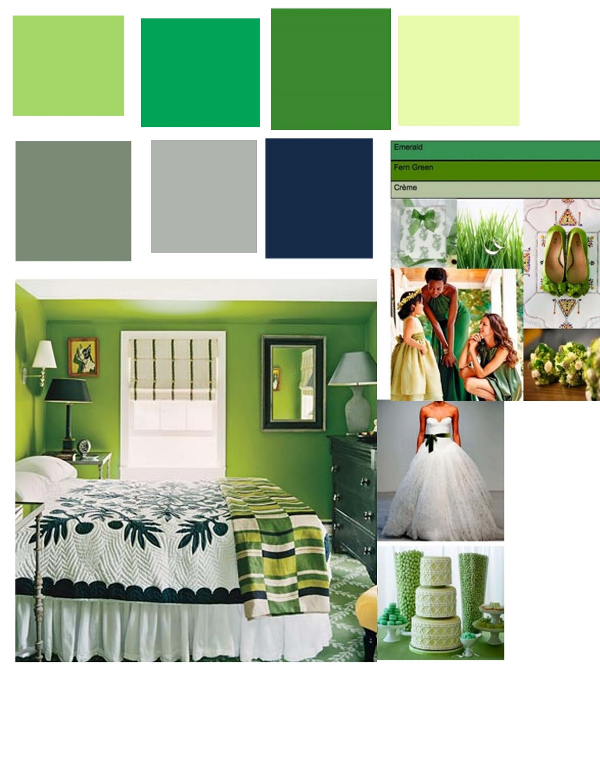 bedroom color schemes in green girls ideas