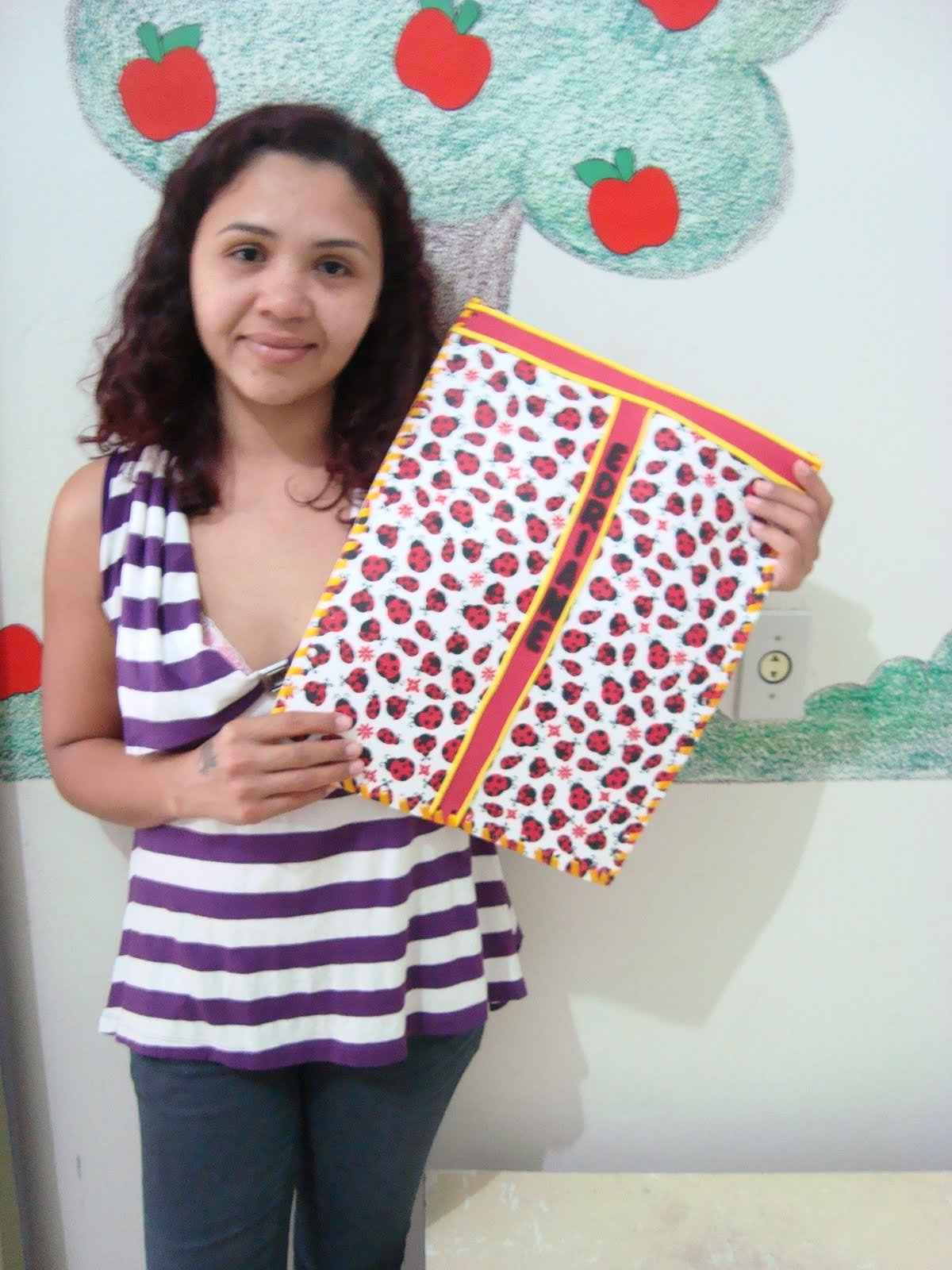 Joaninhas e Borboletas: Capa para notebook!!