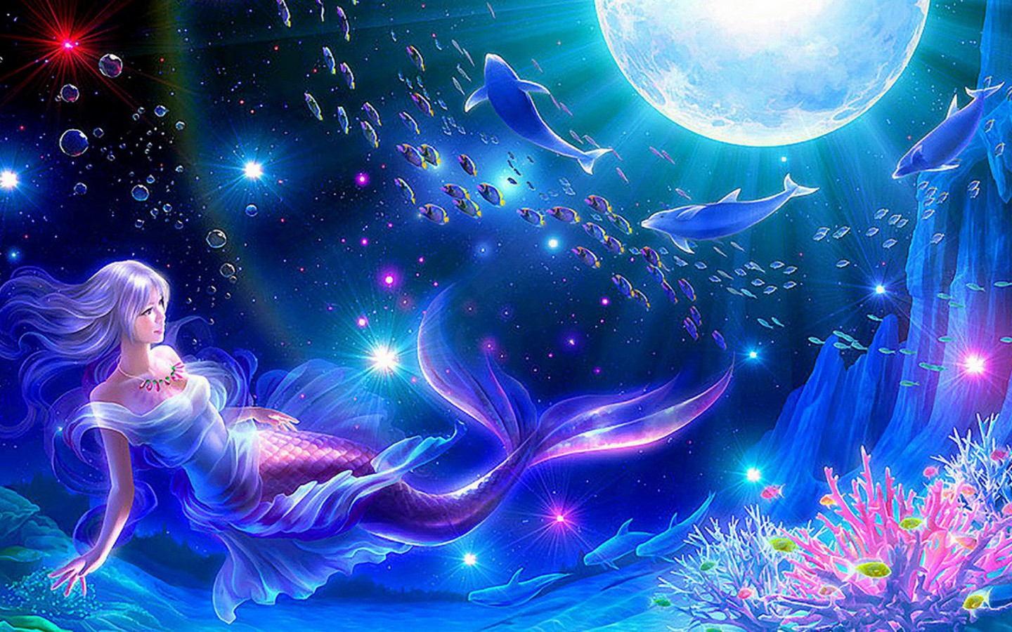 Beautiful fantasy girls hq free wallpapers download 1440x900