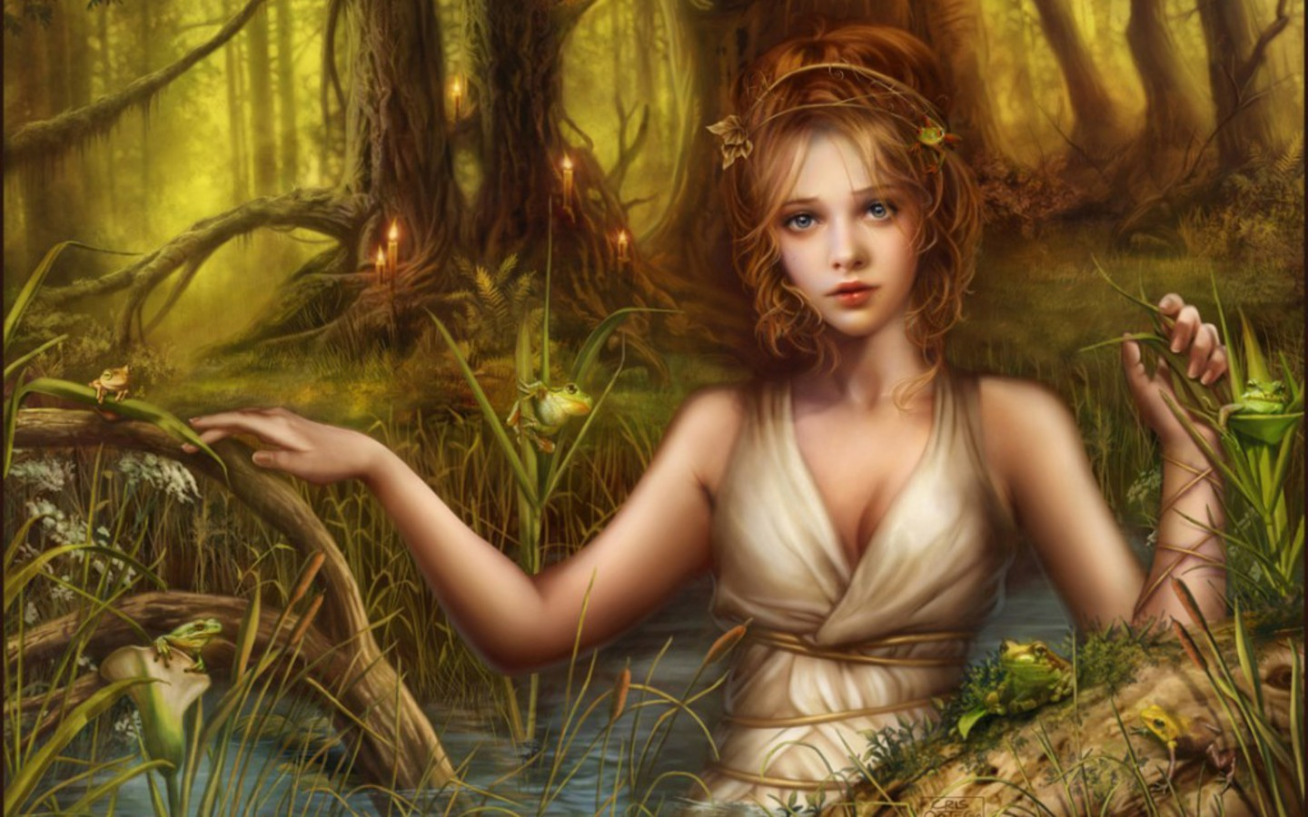 Beautiful Fantasy Girls HQ wallpapers 1440x900 free Download