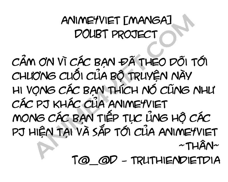 Rabbit Doubt chap 20 – Kết thúc Trang 1 - Mangak.info
