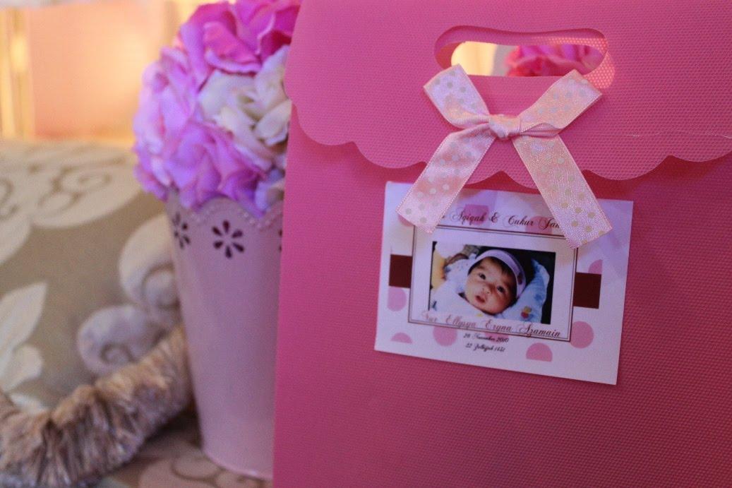 The wedding planner kota kinabalu re post majlis cukur for Idea door gift cukur jambul