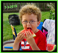 melon eating time photo image