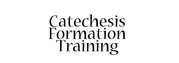 Catechesis Training