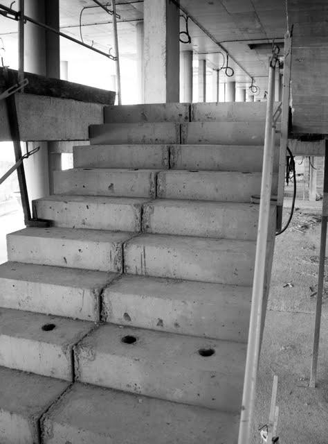 Berra blog escaleras en el hospital de son espases - Escaleras de hormigon armado visto ...