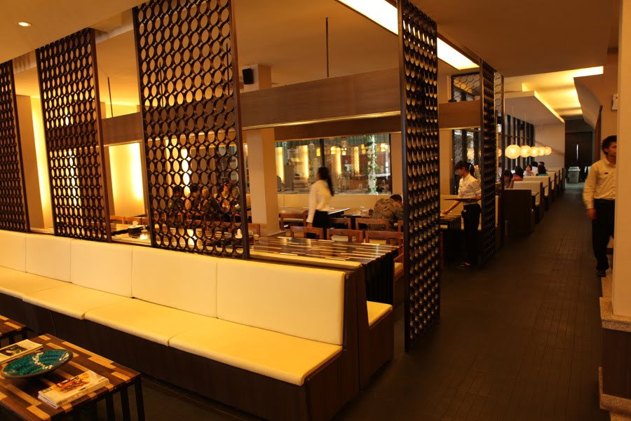Japanese restaurant interior