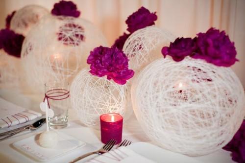Ex Planner - El mejor blog de bodas: Bolas de hilo: Una opción ...