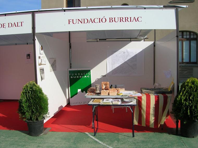 L'estand de la Fundació Burriac