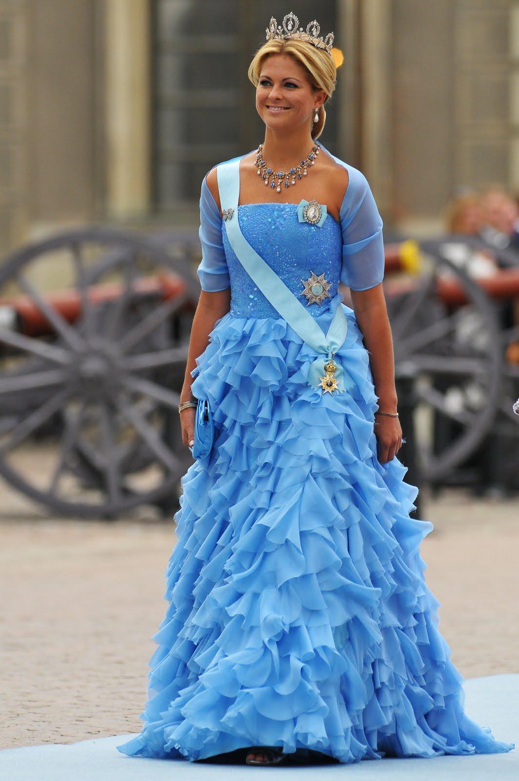 Crown Princess Victoria: Princess Madeleine at Royal Wedding