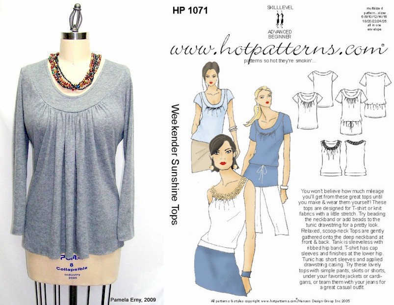 Off The Cuff Sewing Style Empty Closet = Sewing New Tops Fascinating Hot Patterns