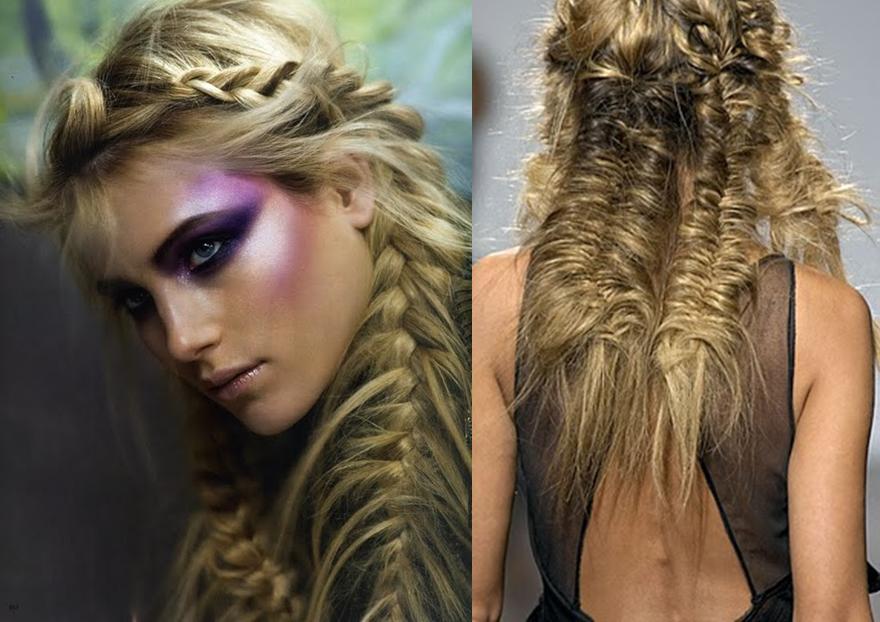 Fishtail Braid Cosmetology Pinterest