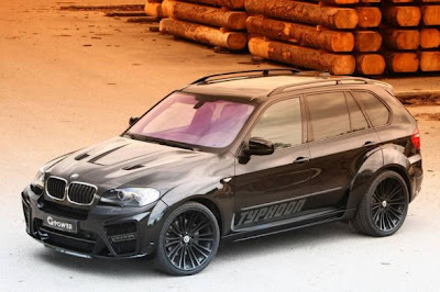 BMW X5 Typhoon Black Pearl in 2010