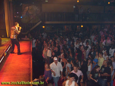 Gil Semedo Live on stage in Brazil performing to a full house, more photos available on http://www.zoukatitude.com.br