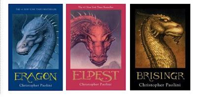 Cartile preferate Eragon+Trilogy