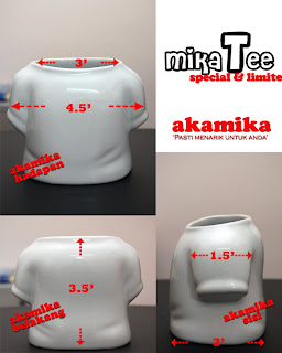 Cetak gambar/design atas mug, pinggan atau gift MT+base