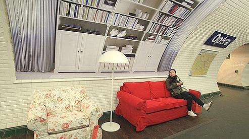 advertising times ikea et la publicit. Black Bedroom Furniture Sets. Home Design Ideas