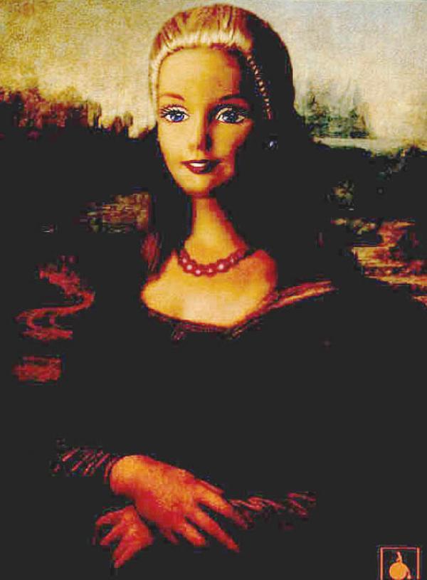 Célèbre Advertising Times: Mona Lisa et la publicité HP29