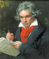 Genialidade ou trabalho: A imagem austera de Beethoven dá indícios de sua visão.