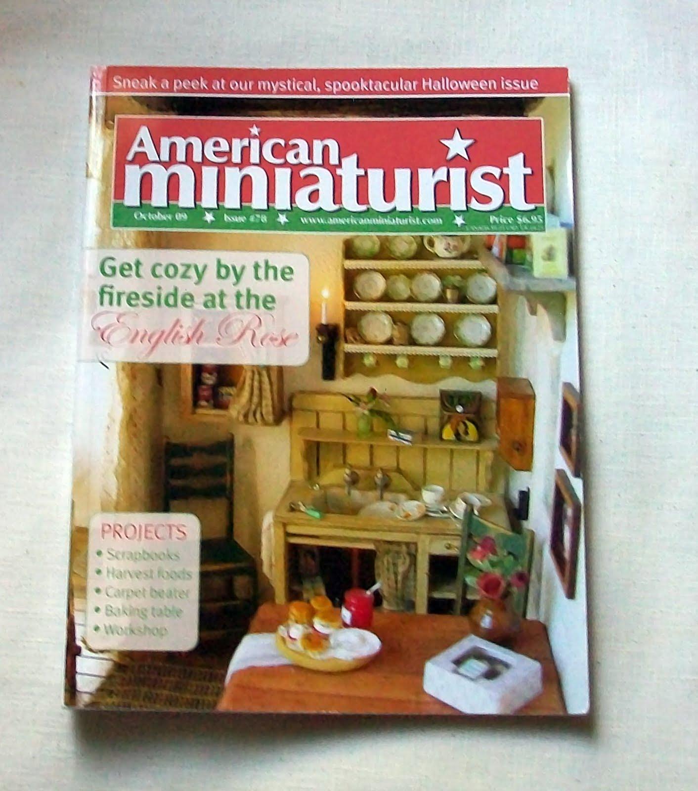 Marquis Miniatures: Rustic Realism: American Miniaturist