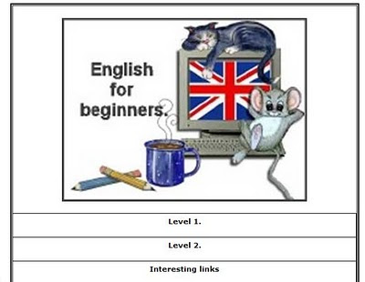 English for beginners