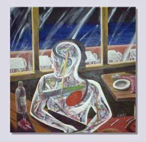pintura - acrílica sobre tela