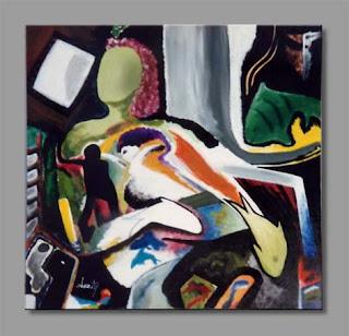 pintura burity- iemanjá