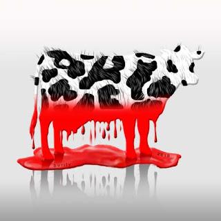 vaca - vermelha - vazou