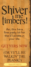 Arrrr..check out our pirate kit!