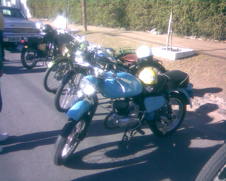 las motos del club