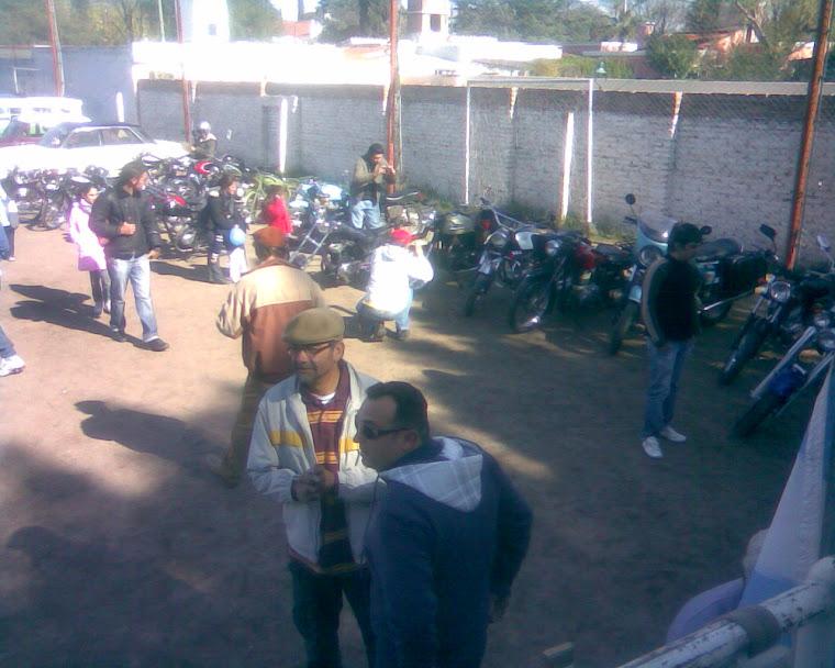 TOMA DESDE EL AUXILIO DEL MOTOCLUB