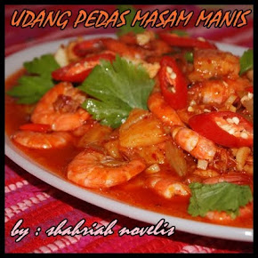 UDANG PEDAS MASAM MANIS