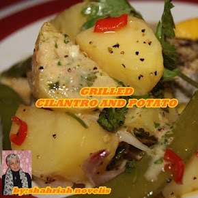 GRILLED CILANTRO AND POTATO