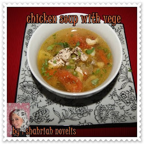 CHICKEN SOUP WITH VEGE