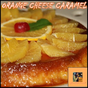 ORANGE CHEESE CARAMEL