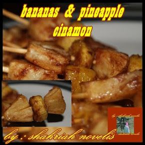 BANANAS &amp; PINEAPPLE CINAMON