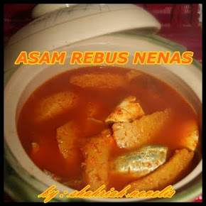 ASAM REBUS NENAS IKAN SELAR